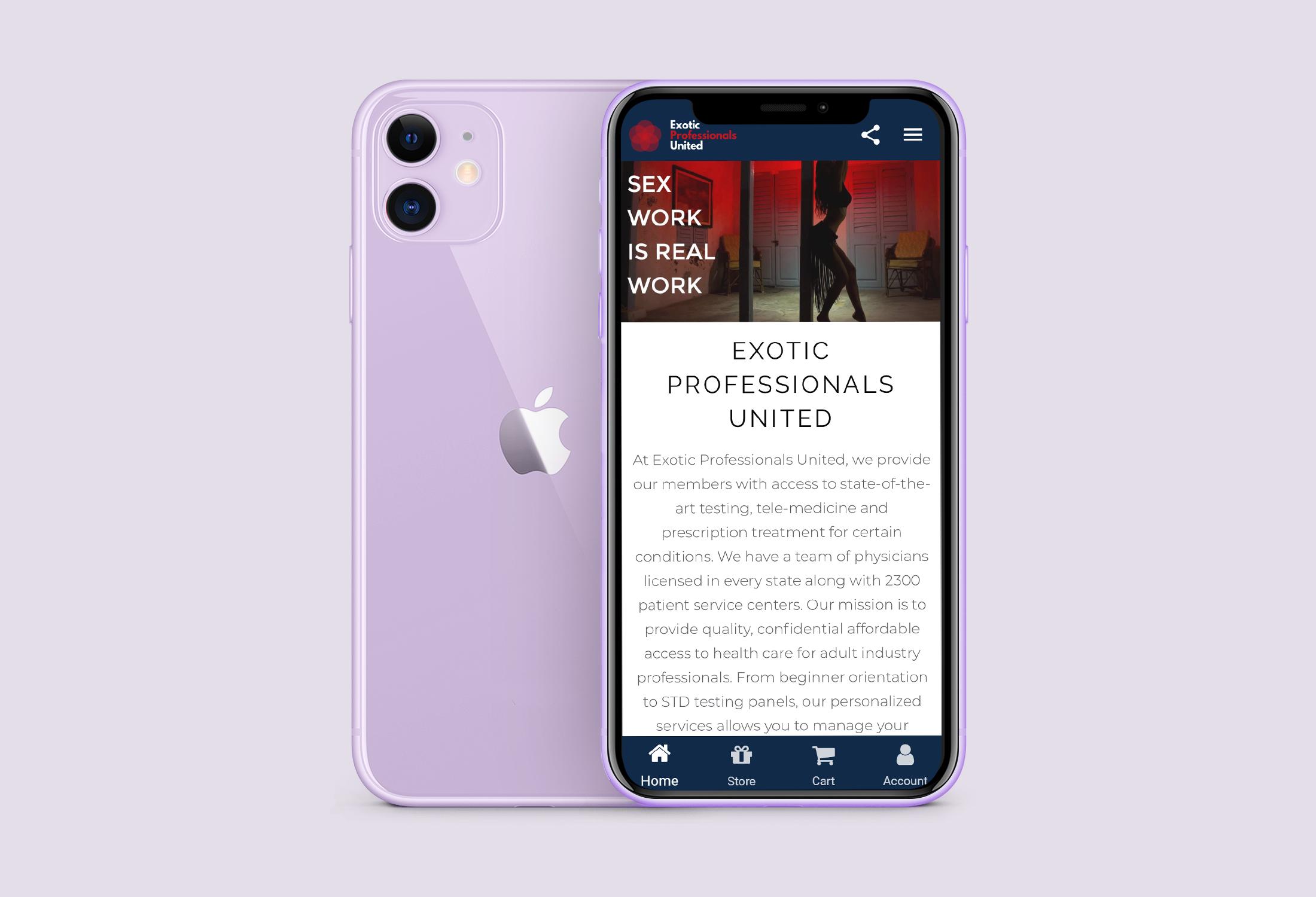 EPU App Homepage Open