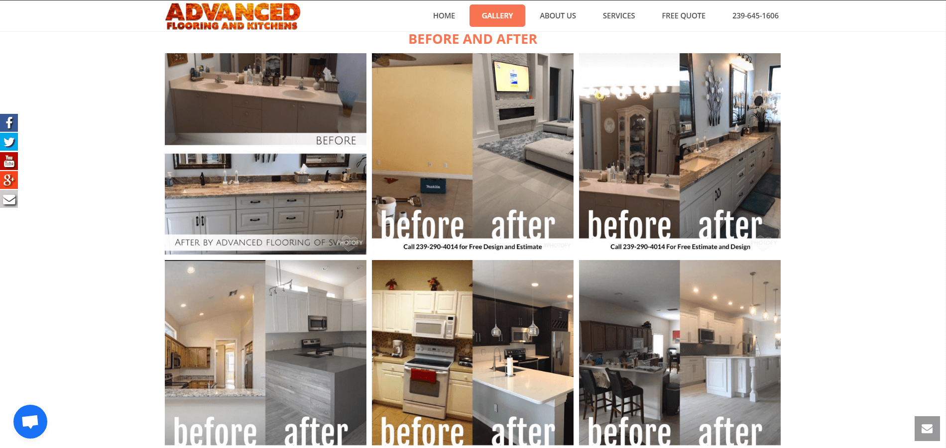 advanced flooring and kitchens gallery page